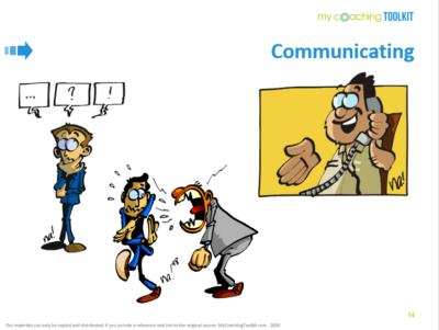 MyCoachingToolkit - Communicating by Na