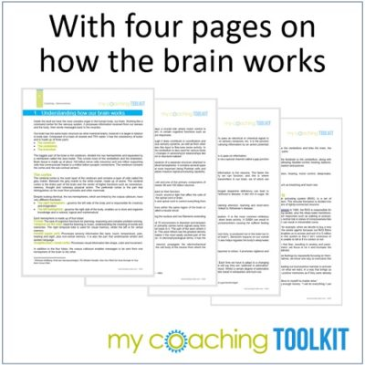 MyCoachingToolkit - How the brain works - Square