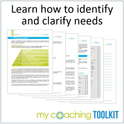 MyCoachingToolkit - Learn to identify needs - Square