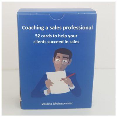 MyCoachingToolkit - Coaching a sales professional - Card box