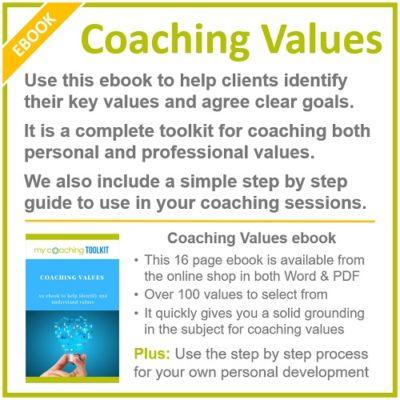 MyCoachingToolkit - Coaching Values Ebook - Square