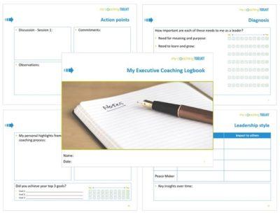 MyCoachingToolkit - Coaching Logbooks - Executive