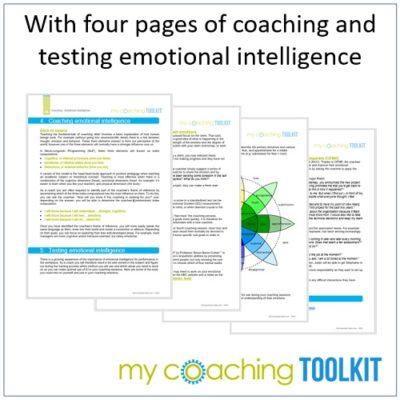 MyCoachingToolkit - Coaching and Testing Emotional Intelligence - Square