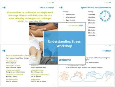 MyCoachingToolkit - Understanding Stress Workshop - Presentation example