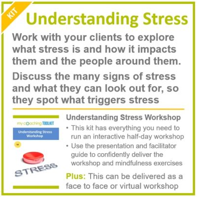 MyCoachingToolkit - Understanding Stress Workshop Kit - Square