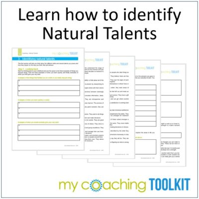 MyCoachingToolkit - Learn to identify natural talents - Square